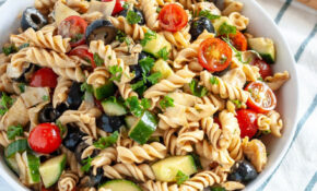 Olive And Artichoke Pasta Salad Recipe | Well Vegan – Olive Recipes Vegetarian