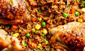 One Pan Asian Chicken & Rice – Recipes Rice And Chicken
