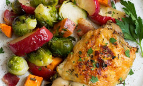 One Pan Autumn Chicken Dinner – Cooking Classy | Healthy ..