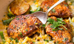 One Pan Cheesy Jalapeño Chicken – Dinner Recipes With Jalapenos