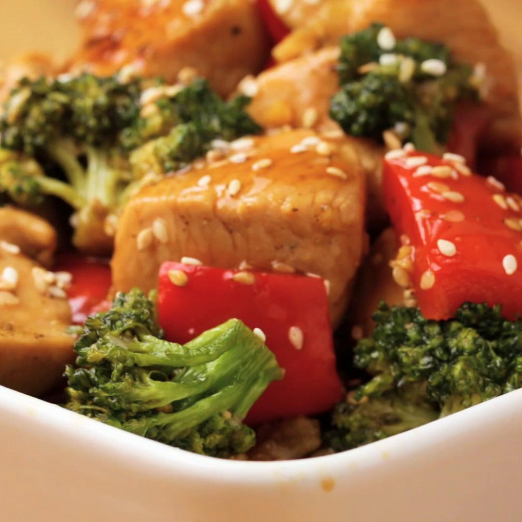 One-Pan Chicken And Broccoli Stir Fry Recipe by Tasty - one pan recipes chicken