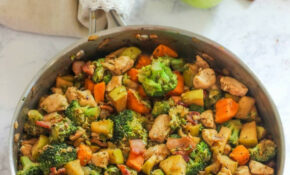 One Pan Chicken With Apples – I Heart Naptime – Fall Recipes Chicken