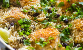 One Pan Cilantro Lime Chicken And Rice – Chicken Recipes Rice