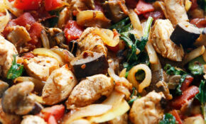 One Pan Eggplant Dinner – Recipes Diced Chicken Breast
