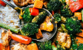 One Pan Healthy Chicken And Veggies – Chicken Recipes Vegetables