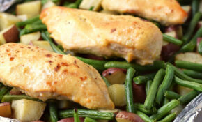 One Pan Honey Garlic Chicken And Vegetables | Recipe ..