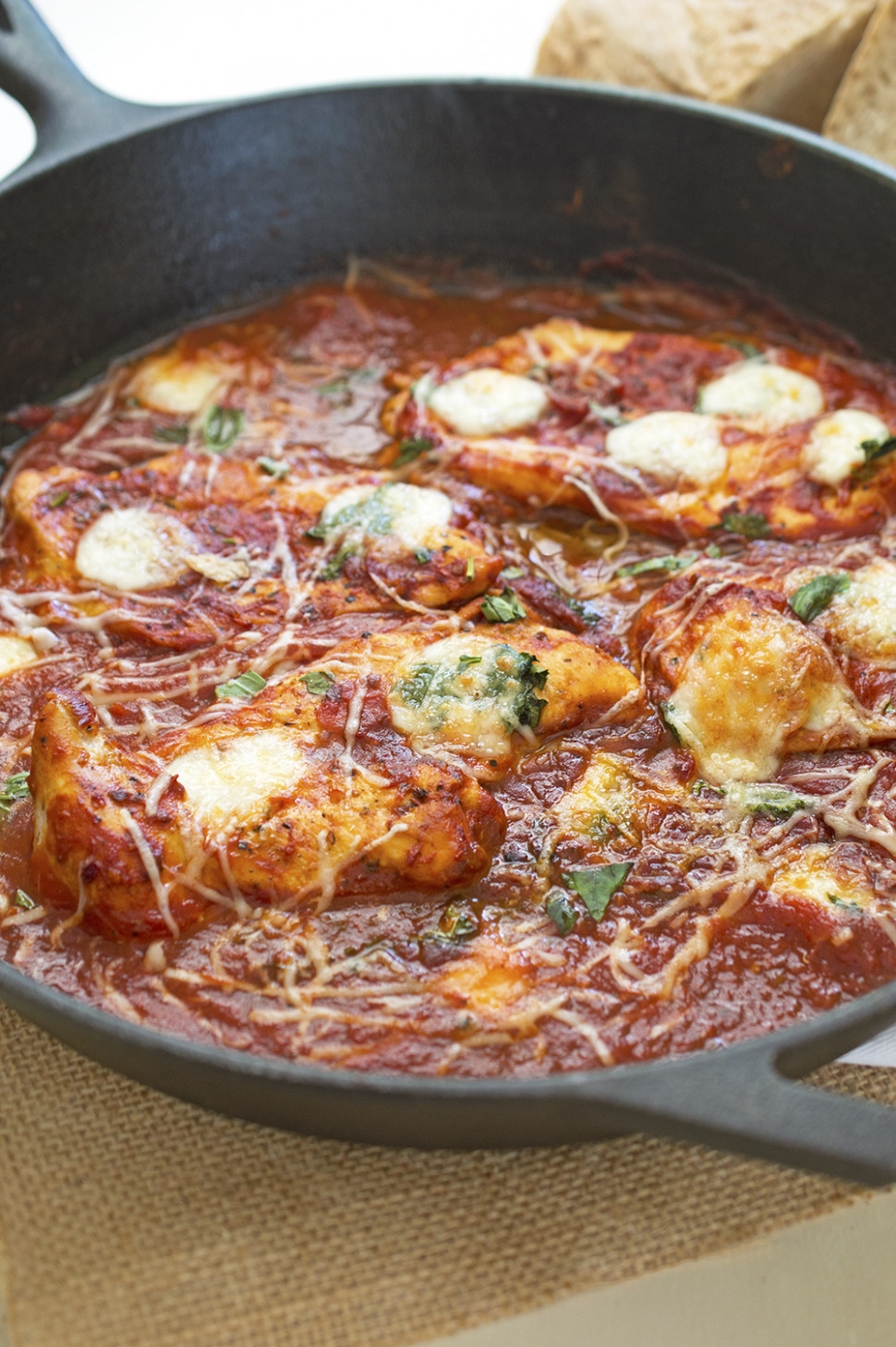 One Pan Italian Chicken Skillet - chicken recipes one pan