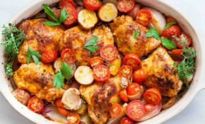 One Pan Paprika Chicken With Potatoes And Tomatoes Recipe ..