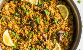 One Pan Quick + Easy Vegetarian Paella – A Sassy Spoon – Easy Vegetarian Rice Recipes For Dinner
