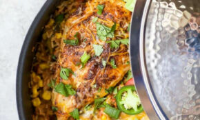 One Pan Southwestern Chicken And Rice | Easy Healthy Recipes – Recipes Rice And Chicken