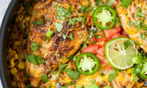 One Pan Southwestern Chicken And Rice | Easy Healthy Recipes – Recipes That Are Healthy