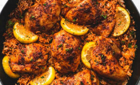 One Pan Spanish Chicken And Rice – One Pot Recipes Chicken