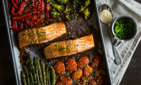 One Pan Teriyaki Huon Salmon Recipe – Healthy Recipes For One