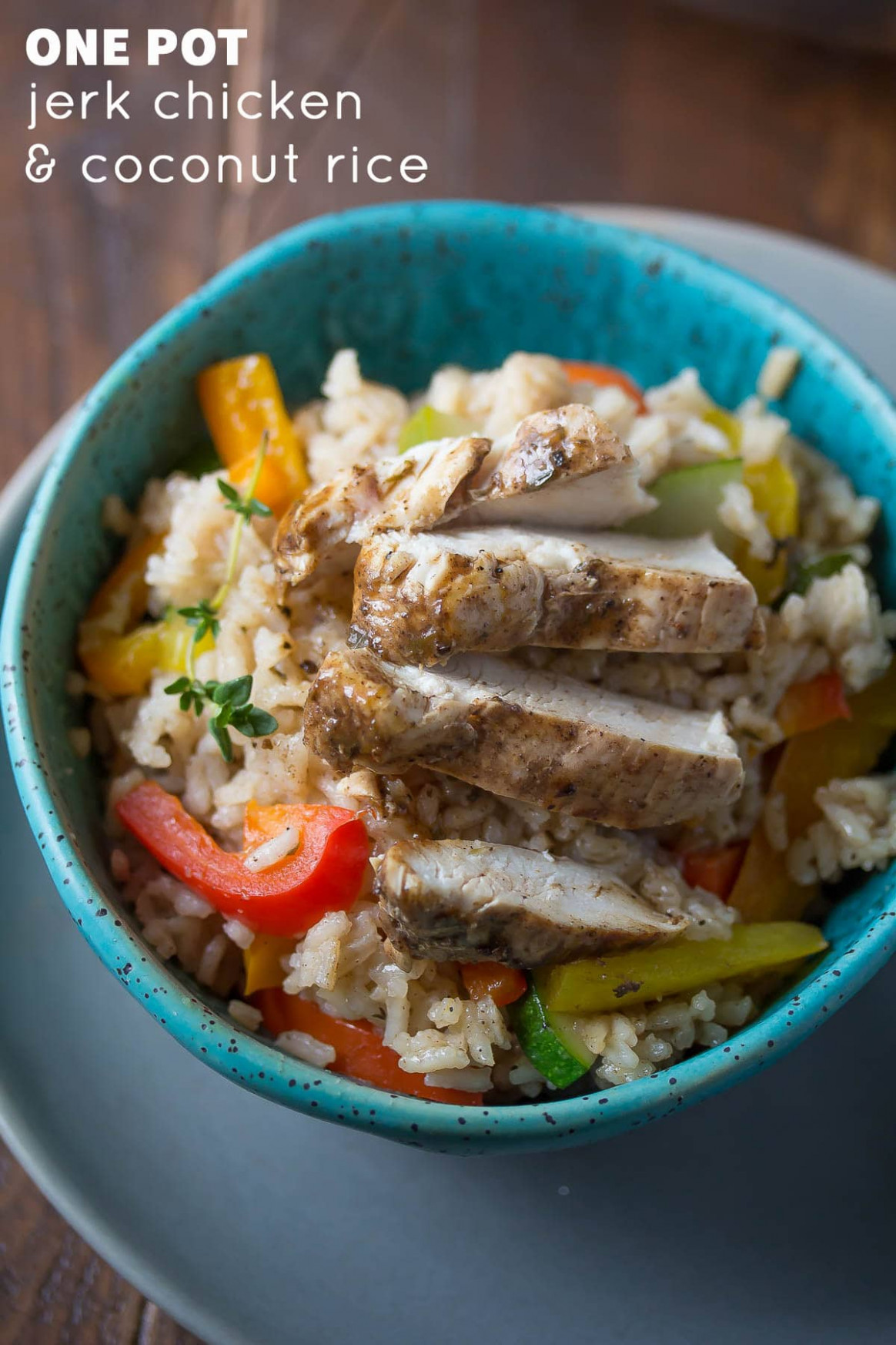 One Pot Caribbean Chicken and Rice - healthy recipes rice
