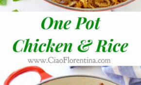 One Pot Chicken And Brown Rice Recipe — Dishmaps – Chicken Recipes One Pot
