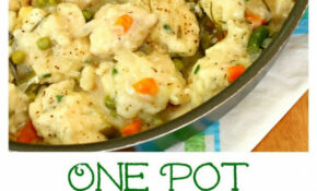 One Pot Chicken And Dumplings: Savory Chicken And ..