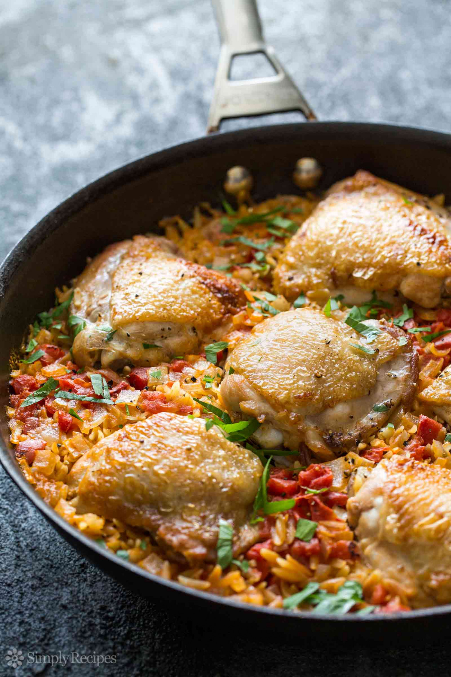 One Pot Chicken and Orzo Recipe (with video ..