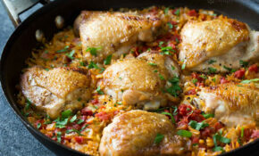 One Pot Chicken And Orzo – Skillet Recipes Chicken