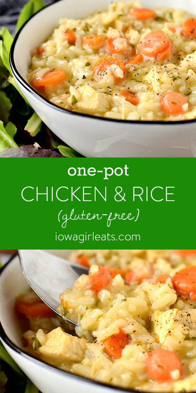 One-Pot Chicken and Rice - chicken recipes and rice