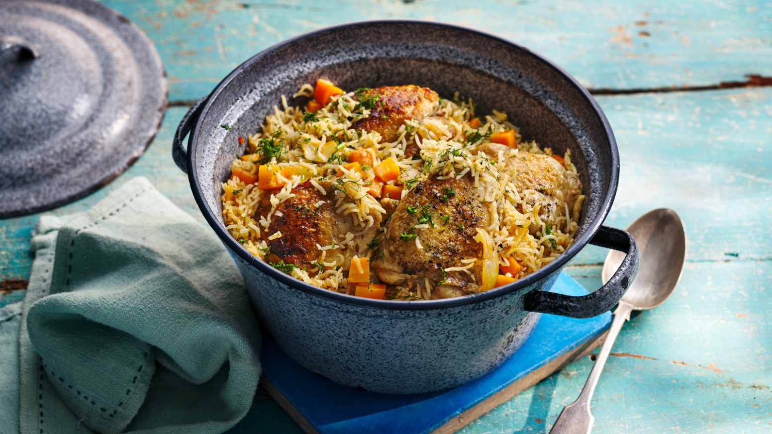 One Pot Chicken And Rice - Chicken Recipes Bbc