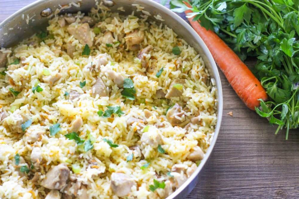 One-Pot Chicken and Rice Recipe - I Heart Naptime - recipes rice and chicken