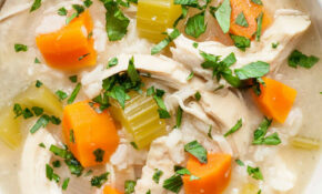 One Pot Chicken And Rice Soup Recipe | SimplyRecipes