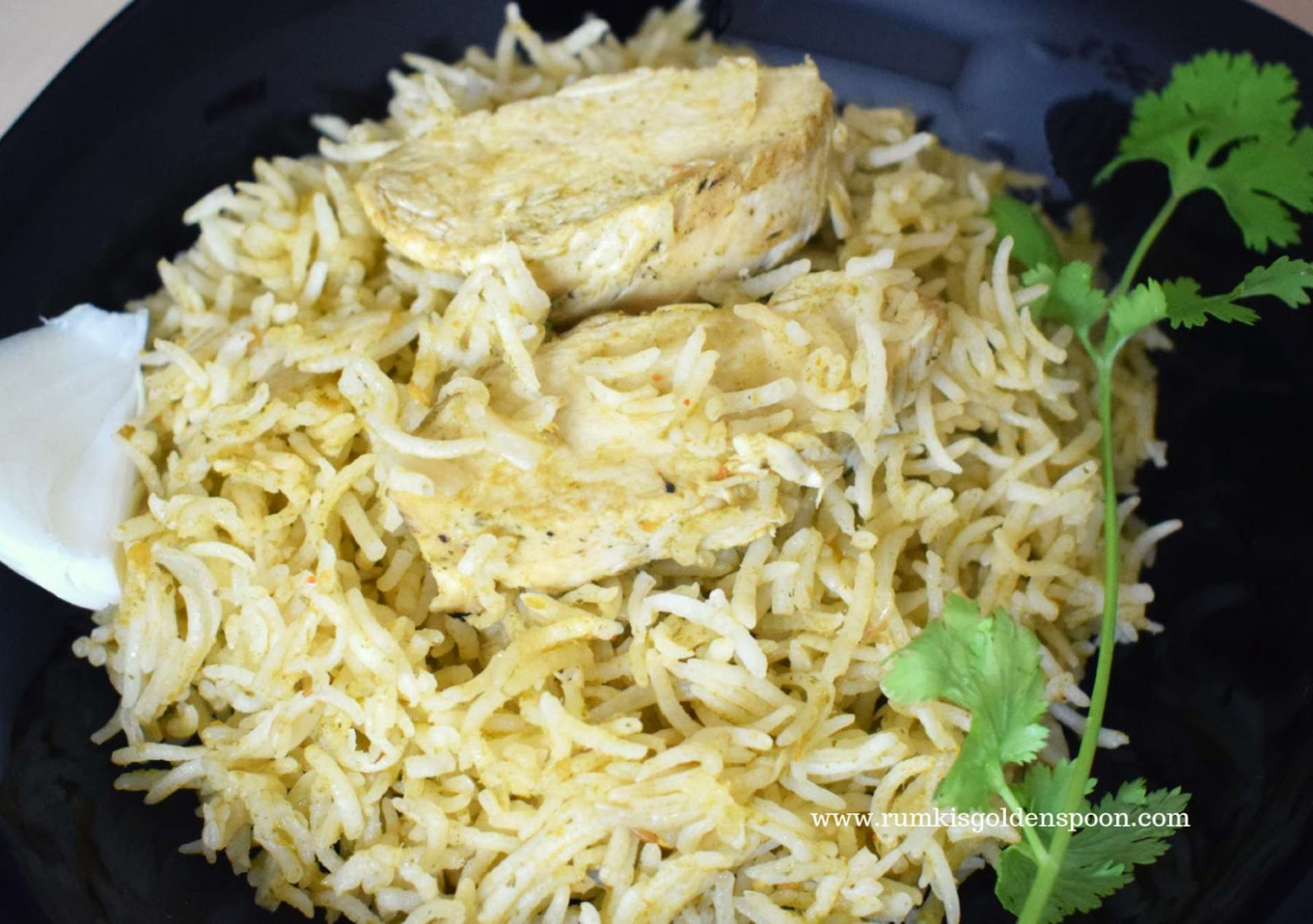 One Pot Chicken-Cilantro-Rice with Leftover Chicken - recipes with leftover chicken