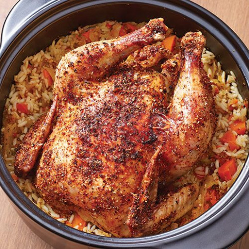 One-Pot Chicken Dinner - Recipes | Pampered Chef US Site - chicken recipes one pot