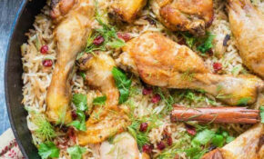 One Pot Chicken With Caramelized Onions, Cardamom And Barberry Rice – Chicken Recipes With Rice