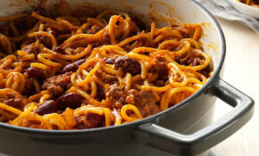 One Pot Chilighetti – Dinner Recipes One Pan