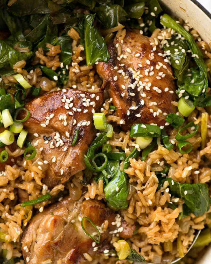 One Pot Chinese Chicken and Rice | RecipeTin Eats - chicken recipes asian