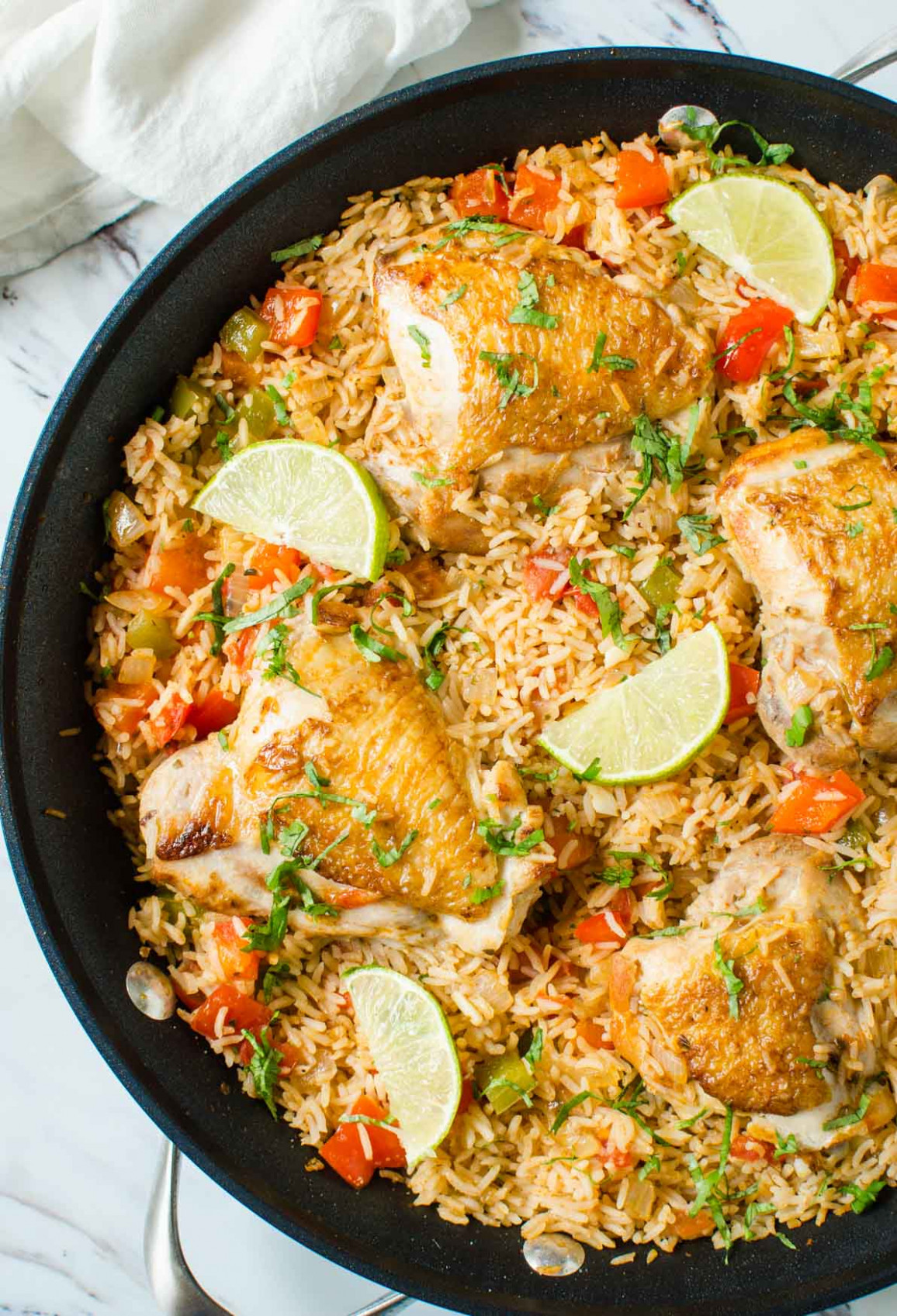 One Pot Healthy Mexican Chicken Rice - healthy mexican recipes