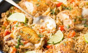 One Pot Healthy Mexican Chicken Rice   Watch What U Eat – Recipes With Chicken Healthy