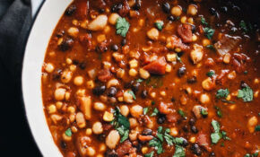 One Pot Healthy Vegetarian Bean Chili | A Simple Palate – Healthy Recipes Vegetables