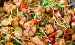 One Pot Low Carb Paleo Keto Asian Chicken Stir Fry – Healthy Recipes Asian