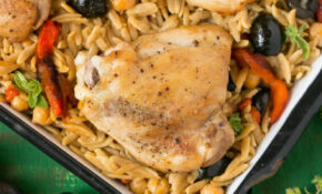 One Pot Mediterranean Chicken – Dinner At The Zoo – Mediterranean Recipes Dinner
