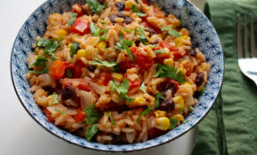 One Pot Mexican Rice With Black Beans And Corn – Black Bean Recipes Vegetarian