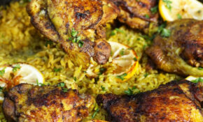 One Pot Middle Eastern Chicken And Rice – Ev's Eats – Middle Eastern Recipes Chicken