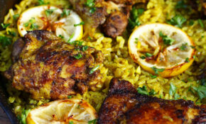 One Pot Middle Eastern Chicken And Rice | Recipe | Chicken ..