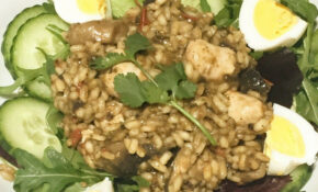 One Pot Mushroom Risotto With Heck Chicken Sausages – Recipes Heck Chicken Sausages