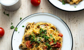 One Pot Mushroom Spaghetti – Dinner Recipes One Pot