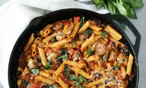 One Pot Sausage Pasta – DeLallo – One Pot Recipes Dinner Party