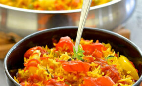 One Pot Spicy Vegetable Rice – One Pot Rice Recipes Vegetarian