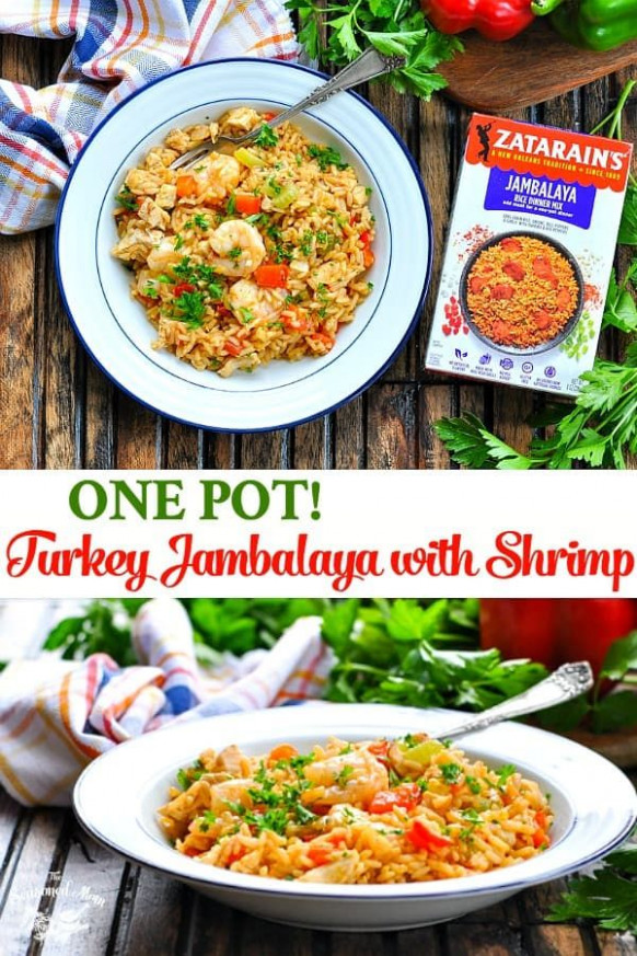 One Pot Turkey Jambalaya with Shrimp | Recipe | MUST TRY ..