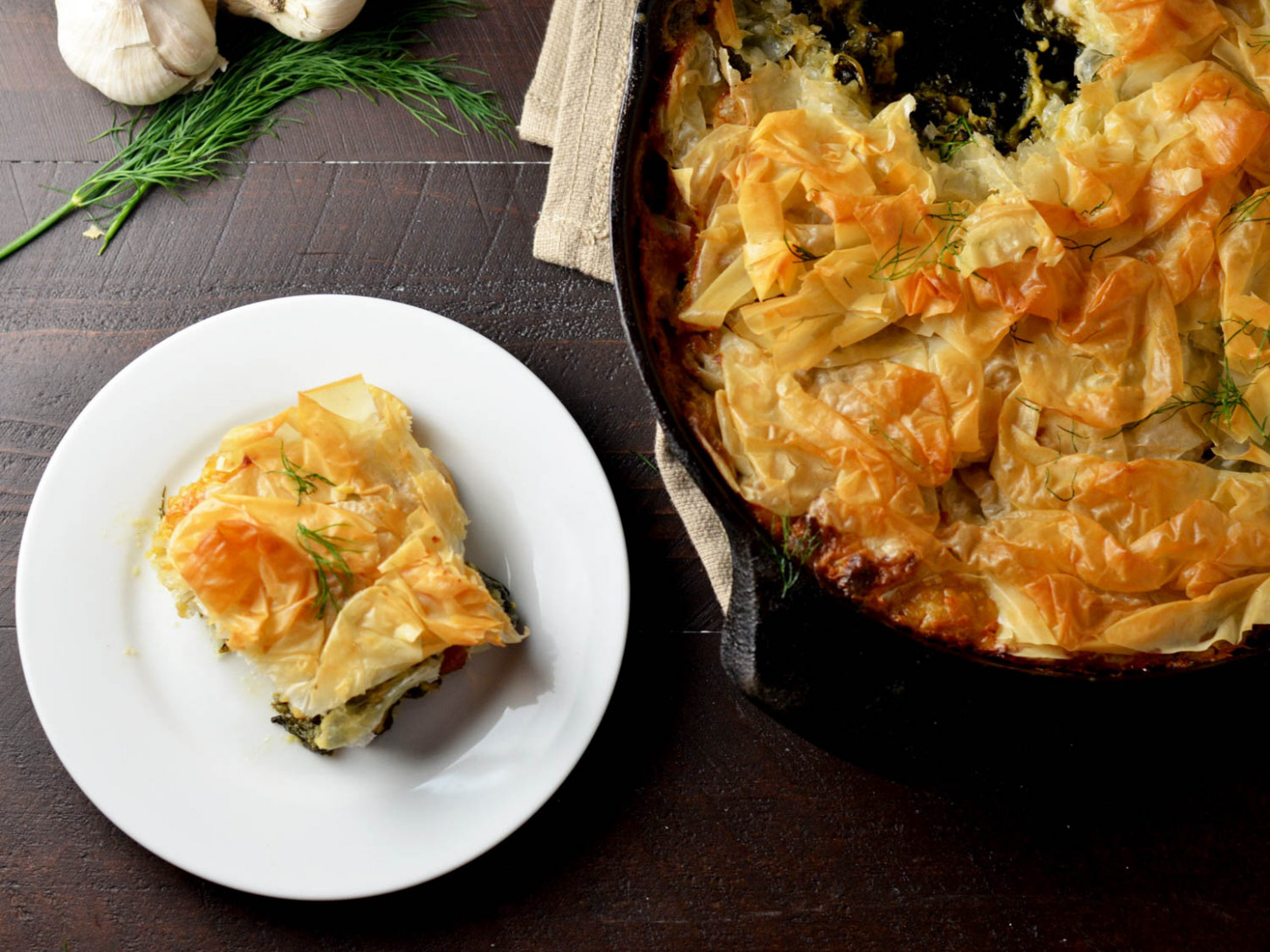One-Skillet Dinner: Chicken Spanakopita Pot Pie | Serious Eats - griddle recipes dinner