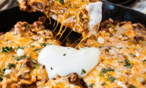 One Skillet Enchilada Casserole – Healthy Recipes Enchilada Casserole