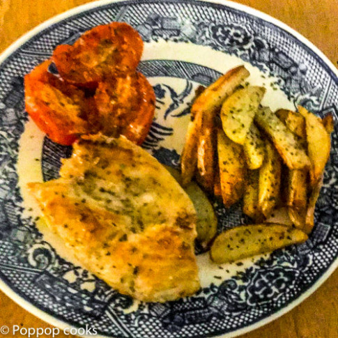 One Skillet Weeknight Chicken Dinner - Quick and Easy ..