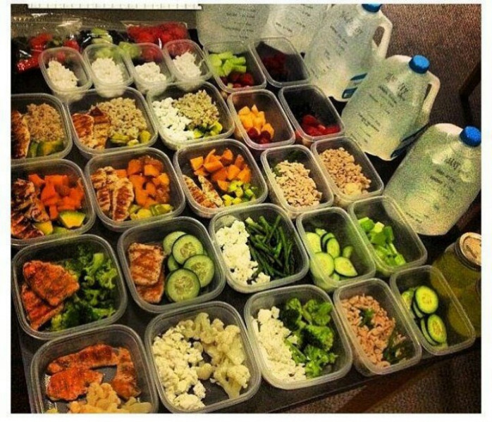 One Week of Meal Prep - East Dallas CrossFit - healthy recipes to lose weight fast