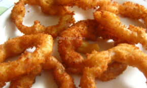 Onion Rings – Deep Fried Onion Rings – Snack Recipe – Dinner Recipes Kerala