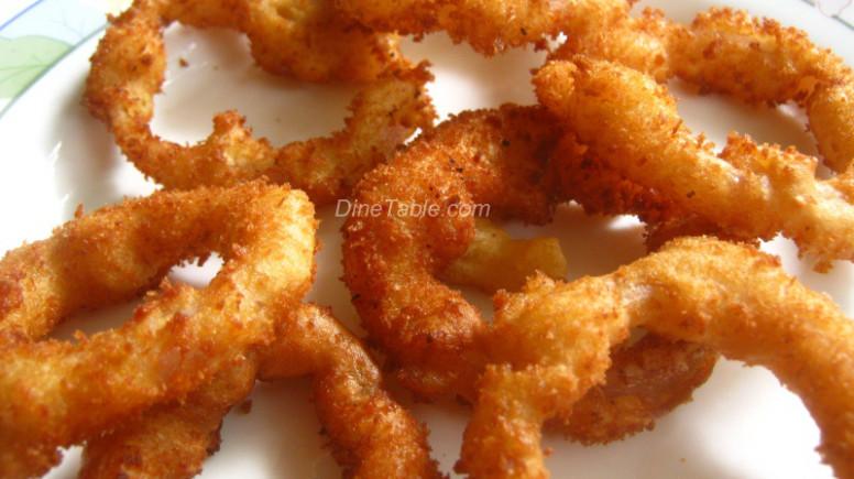 Onion Rings - Deep Fried Onion Rings - Snack Recipe - dinner recipes kerala